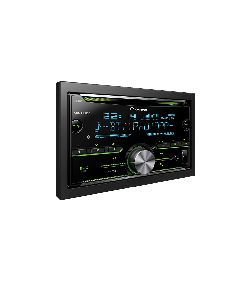 Pioneer MVH-X195UI Digital Media Receiver with MIXTRAX,USB Direct Control for iPod//iPhone /& Certain Android Phones